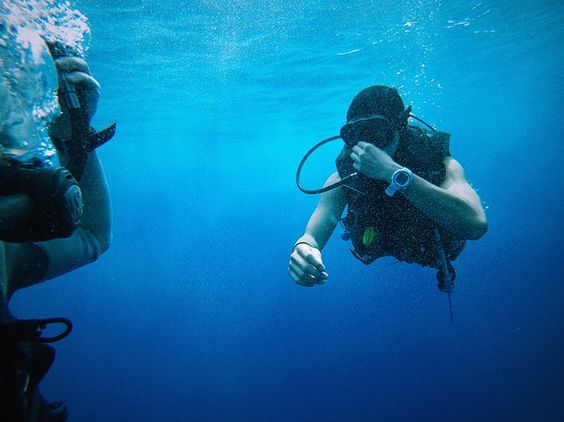 Most Frequent Diving Problems for Beginners