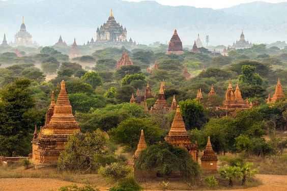 The Sacred Country by Buddhism, Exploded by the Stunning Destinations